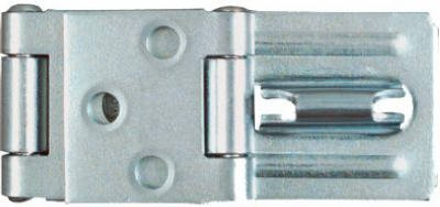 National Mfg N103-259 3-1/4-Inch Zinc Double Hinge Safety Hasp