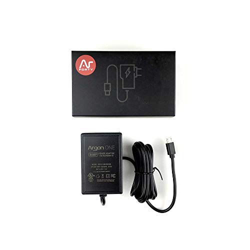 Argon ONE Raspberry Pi UL Listed Power Supply 5.25 Volts 3 Amps (Power Supply Listed)