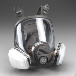 3M 7162 Full-Facepiece Spray Paint Respirator - Organic ()