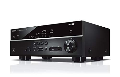 Yamaha RX-V385 5.1-Channel 4K Ultra HD AV Receiver with Bluetooth (Renewed) by Yamaha Audio (Image #1)