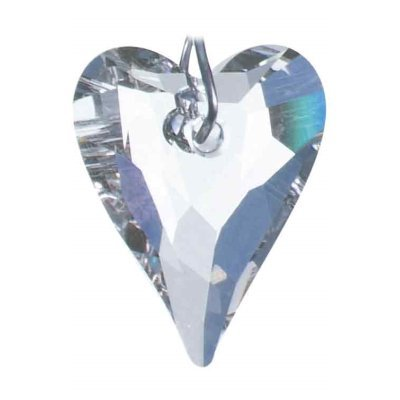 8a0db320e Swarovski Hanging Crystal Suncatcher/Rainbow Maker with 27mm Clear Wild  Heart Crystal: Amazon.co.uk: Kitchen & Home