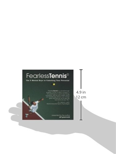 FearlessTennis: The 5 Mental Keys to Unlocking Your Potential (2 Disc Set) by Mental Edge Intl