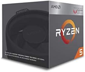 AMD Ryzen 5 2400G Processor with Radeon RX Vega 11 Graphics 4 AM4  YD2400C5FBBOX