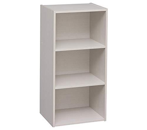Desk Modular Executive (Iris Usа Office Home Furniture Premium 3-Cube Modular Storage Box, White, 1 Pack)