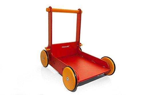Moover Walker Baby Walker B001EHLTJE 手押しぐるま(組立式) レッド レッド B001EHLTJE, 津田SAKE店:75166022 --- infinnate.ro