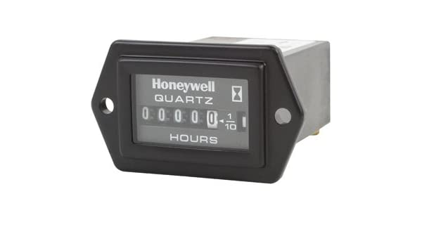 HONEYWELL 85094 DC Quartz Hour Meter,2 Screw,10-80VDC