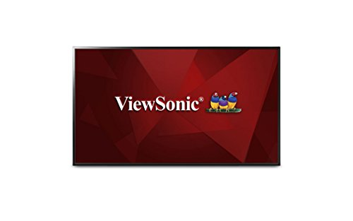 Viewsonic CDE5502-A CDE5502, 55'' 1080p Full HD LED-Backlit LCD Flat Panel Display, Black