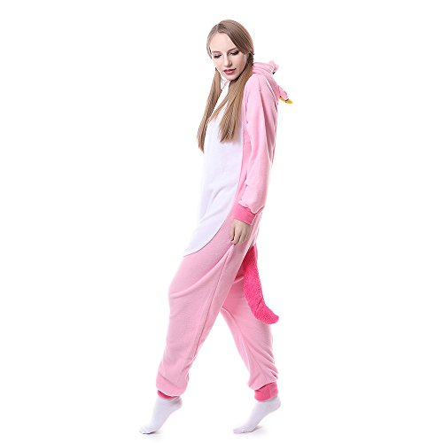 Animale Tutina Adulto Costume SY05 Pigiama Pigiama Cosplay rosa Unisex wUx4qB