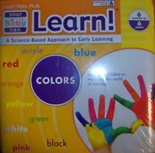 Learn!, EARLY LEARNING PROGRAM, COLORS (6 MONTHS T0 6 YEARS) (YOUR BABY CAN LEARN) PDF