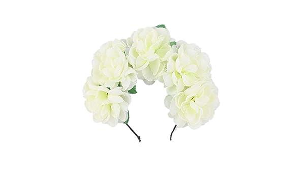 Oasics - Diadema para Mujer, diseño de Flores: Amazon.es: Hogar