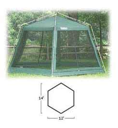Eureka Hex Screen House One Color, One Size