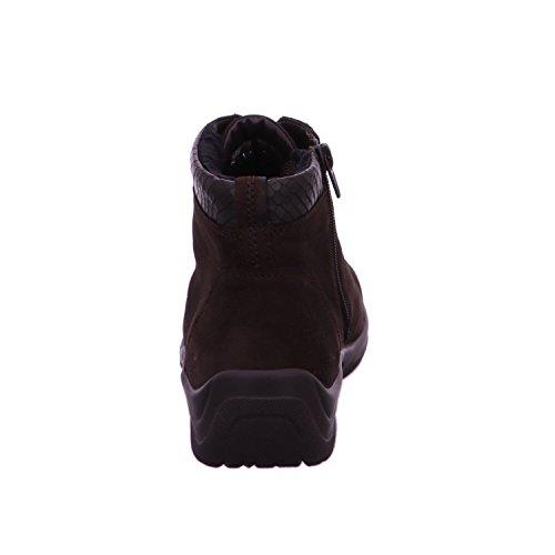 Waldläufer 312802-282-038 - Botas de Piel para mujer marrón