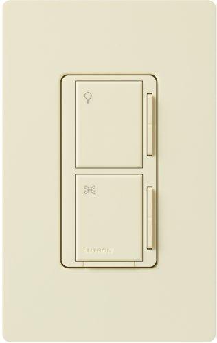 lutron ma alfq35 al maestro companion fan and light control almond. Black Bedroom Furniture Sets. Home Design Ideas