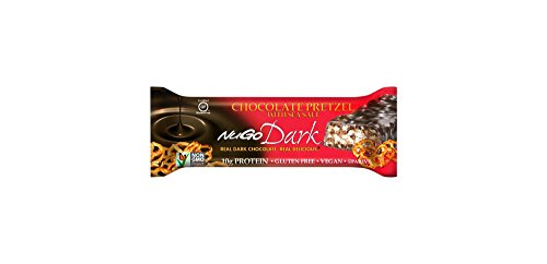 Nugo Dark Chocolate Pretzel with Sea Salt Gluten Free Granola Bars 1.76ozx5 bars, total 8.8oz by NuGo