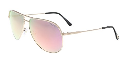 Sunglasses Tom Ford ERIN TF 466 FT 29Z matte rose gold / - Ford Tom Aviator