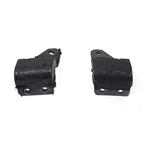 Eckler's Premier Quality Products 57131973 Chevy Manual Transmission Shift Bellhousing Mounts Rear