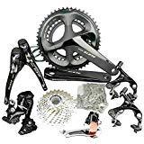 (SHIMANO 105 R7000 RD-R7000 SS 11-Speed Road Bike Short Cage Shadow Rear Derailleur Black )