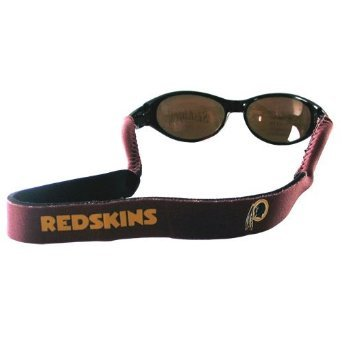 Sunglasses Washington Redskins (Washington Redskins Neoprene Strap Holder Croakies for Sunglasses or Eyeglasses Officially Licensed NFL Football Team Logo)