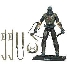 G.I Joe Pursuit of Cobra Series Snake Eyes (Ninja Commando) with Tornado Kick 3.75 Inch Scale