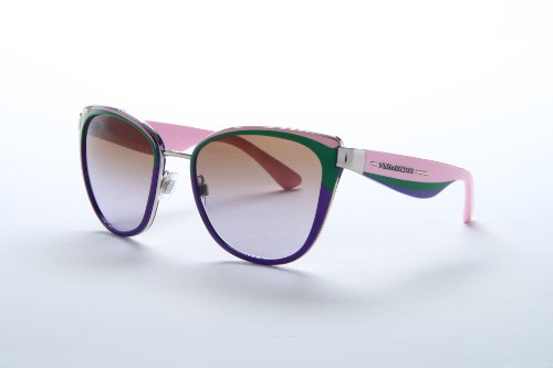 New Dolce&Gabbana D&G DG 2107 1165/68 Silver Pink Men Women Metal - Pink Sunglasses D&g