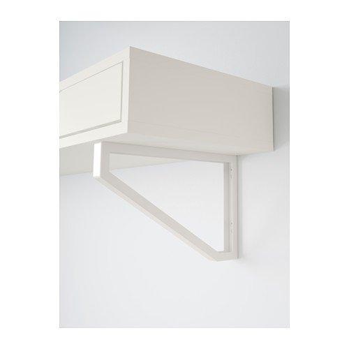 Ikea White Wall Shelf with drawers 46 7/8x11 3/8 '', 20202.142320.3830