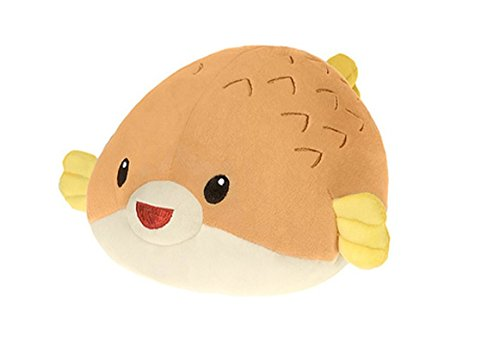 Fiesta Toys Lil Huggy Patty Puffer Fish Stuffed Toy 8