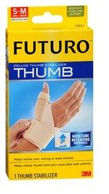 Futuro Deluxe Thumb Stabilizer Small-Medium (45841) - Each, Pack of 6 by Futuro