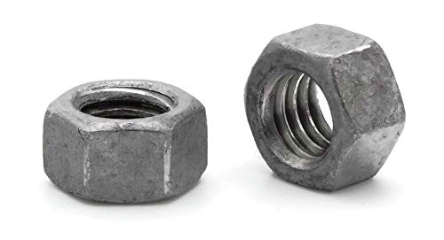- Hex Finish Nuts Hot Dipped Galvanized -5/8