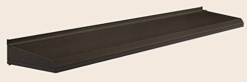 キャピア A型 ユニットひさし 呼称:17406 W:2,020mm × D:590mm 製品色:オータムブラウン(G) 標準仕様(先付) LIXIL リクシル TOSTEM トステム B07523KBW9 標準仕様(先付) オータムブラウン(G)