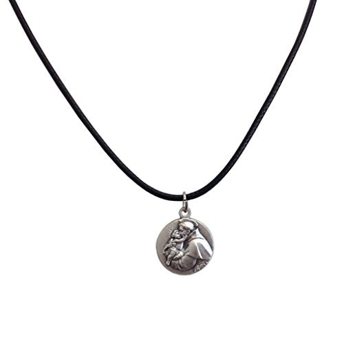 (Medal of Saint Anthony of Padua with String Cord - The medals of the Patron Saints)
