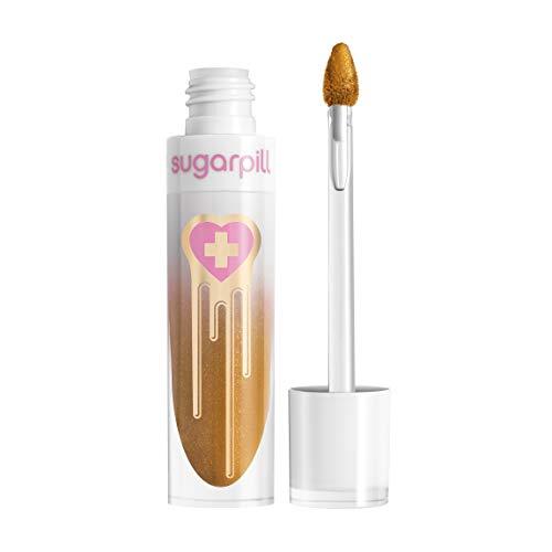 Sugarpill Metallic Liquid Lipstick Lip Color - Glint (Gold)
