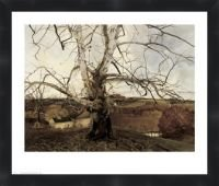 Pennsylvania Landscape 1941 by Andrew Wyeth Framed Poster Print 25X30