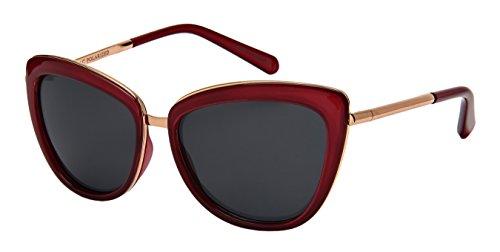Edge-I-Wear Classic Vintage Cat Eye Sunglasses W/Polarized Lenses - R P Sunglasses