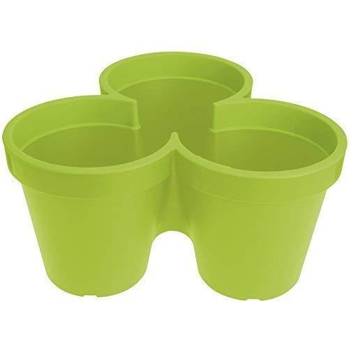 Vasche Da Giardino Plastica.Impilabile In Plastica Da Giardino Cortile Balcone Vaso Da