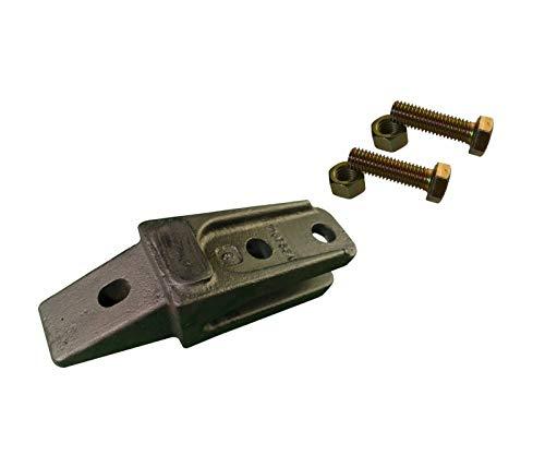1 - Bobcat Style Mini Excavator, Skid Steer Bolt On Shank & Hardware - 7107324 - Mini Excavator Parts