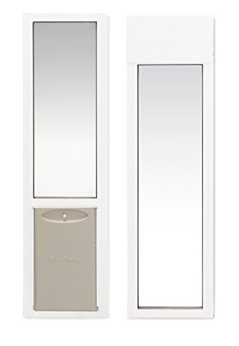 PetSafe 2-Piece Sliding Glass Pet Door, Great for Apartments or Rentals , 76 13/16