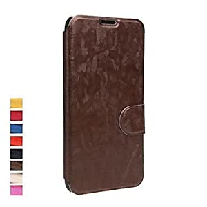HP DF Ultra-thin Flip PU Leather Battery Housing Case Full Protective Cover for Samsung Galaxy S5 i9600