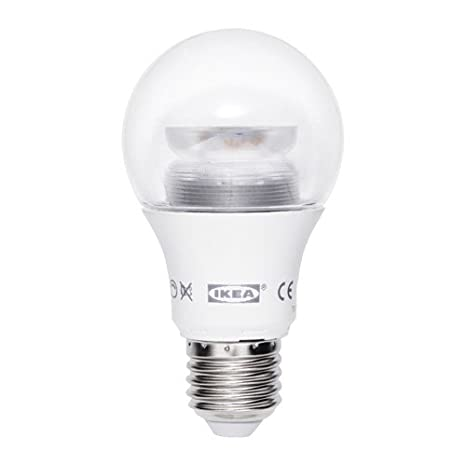 IKEA LEDARE bombilla LED E27 600 lúmenes 8,6 W regulable globo: Amazon.es: Iluminación