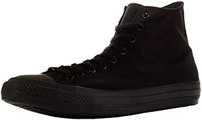 Converse Chuck Taylor All Star Seasonal Color Hi (10.5 D(M) US / 12.5 B(M) US / 44-45 EUR, Black Monochrome)