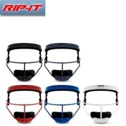 RIP-IT Defense Mask - Softball - Adult - Scarlet by RIP-IT Sports