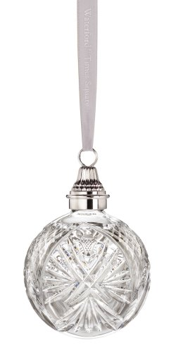 Waterford Crystal Times Square Let There Be Joy LED Ball, Christmas Ornament