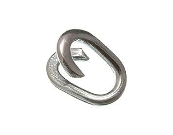 Kette Zaun Repair Link- 7mm 9/32 Inch Wetter verzinkt ( Packung mit ...