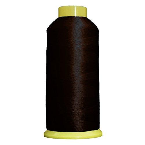 Mahogany Polyester Thread (Threadart Large Polyester Thread No. 300 - Mahogany-5000 M)