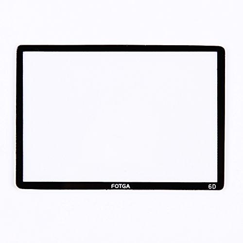 Fotga 광학 유리 LCD 화면 보호기 포일 캐논 6D DSLR 카메라/F..