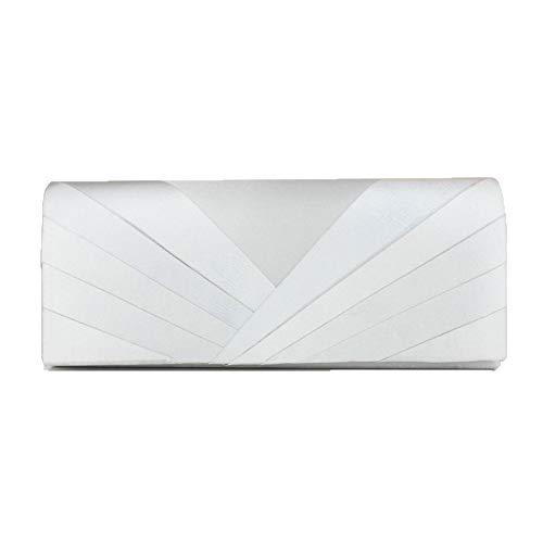Nouveaux Cheongsam White Argenté Banquet 5x5x10cm Sac 25 Sac Main Chers Robe à de FU4Axqqw