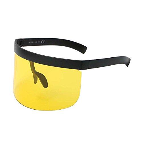 Extragrande para Gafas Visera Hombre Color color de UGUAX de y Máscara 2 5 Tamaño Sol Mujer tAw8dqg