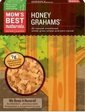 Mom's Best Naturals Honey Grahams Cereal (14x17.5oz)