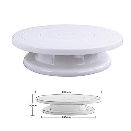 FAWEG Diy Rotary Cake Baking Tool Cake Stand Cake Plastic Cake ...