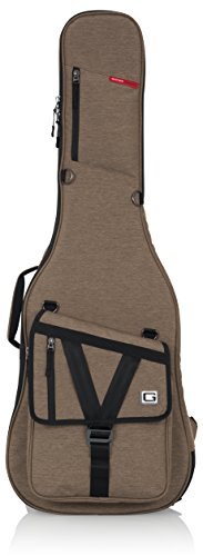 Series Electric Guitar Gig Bag; Tan Exterior (GT-ELECTRIC-TAN) ()