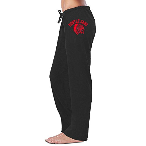 Women TI Hustle Gang Jogger Pants Design Cotton Sweatpants